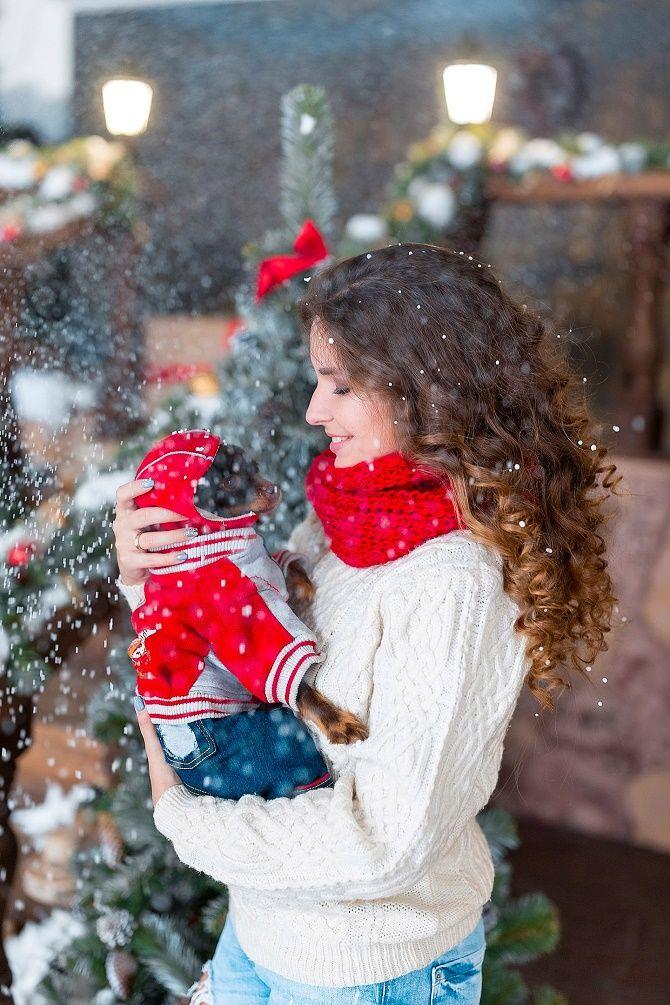 яркие образы для новогодней фотосессии