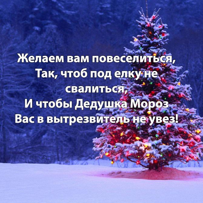 шуточные короткие поздравления с новым годом