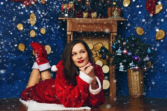 образы для новогодней фотосессии 2020 для девушки