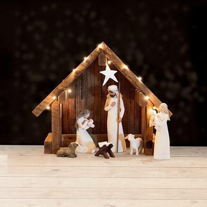 поделки рождественский вертеп