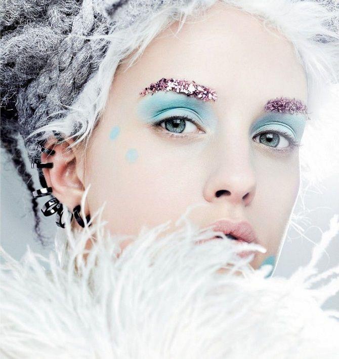 макіяж Снігова королева