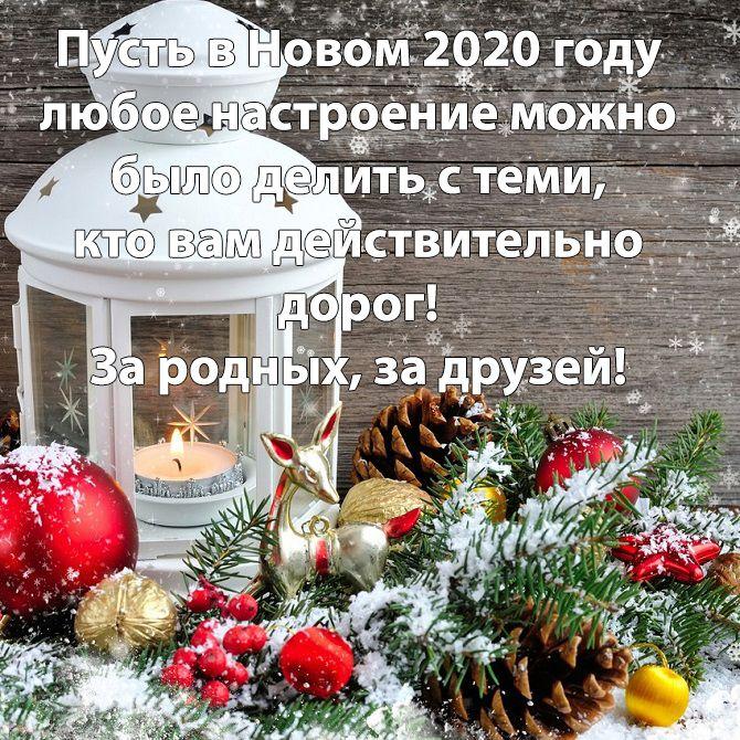 короткие пожелания на новый год