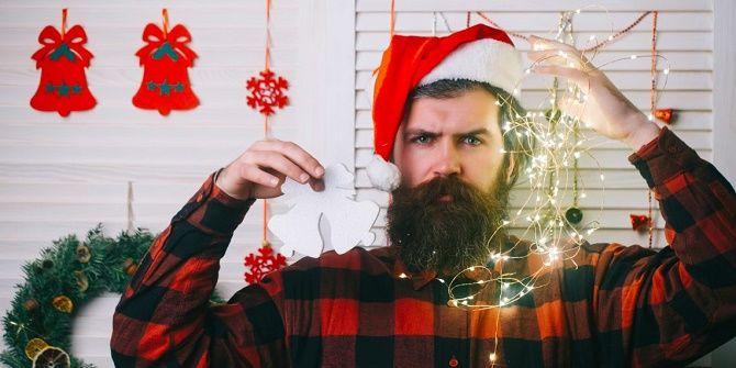 мужские образы для новогодней фотосессии