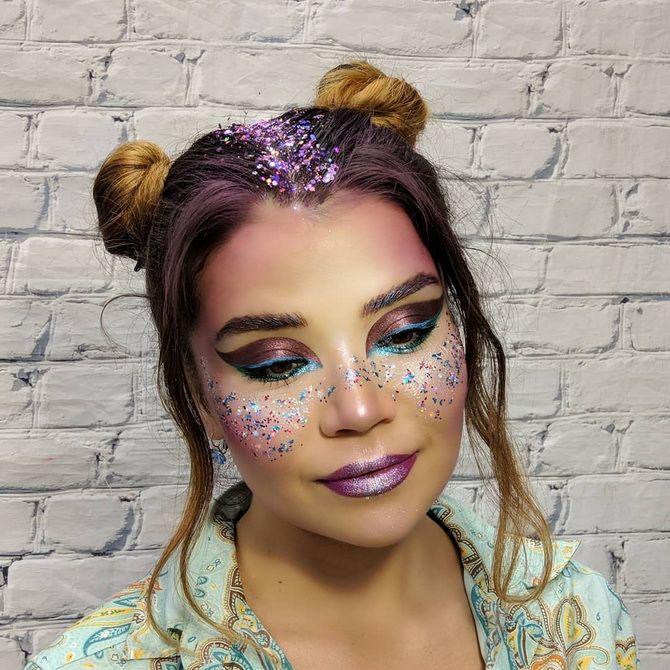 Neujahrs-Make-up