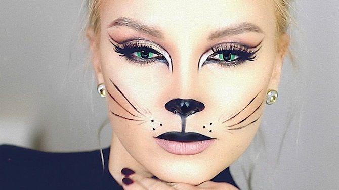 макияж мышки на новый год