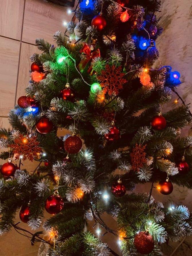 красивая елка на новый год