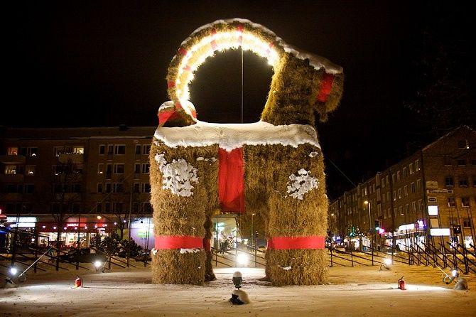 новий рік в швеції
