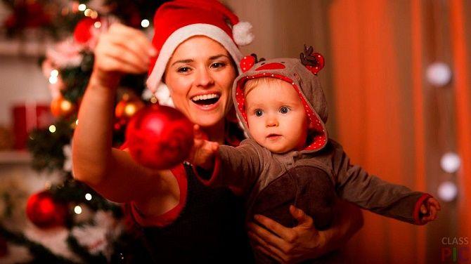 образи для новорічної фотосесії новонароджений