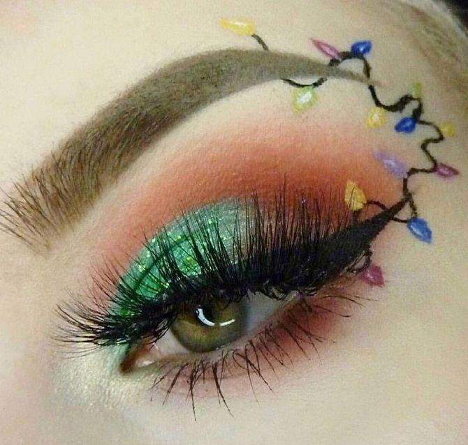 карнавальный макияж на новый год 2020