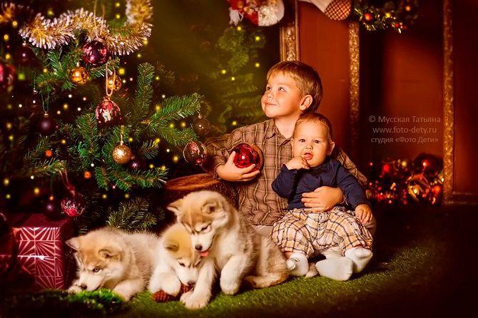 образы для новогодней фотосессии мальчиков