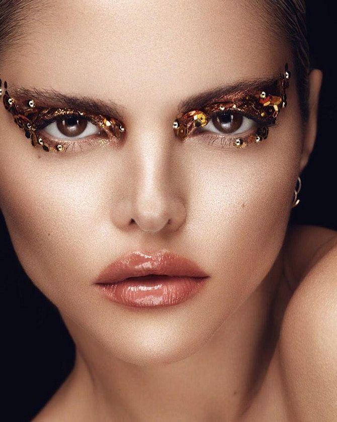 карнавальный новогодний макияж 2020