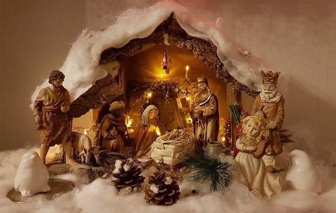 как сделать рождественский вертеп