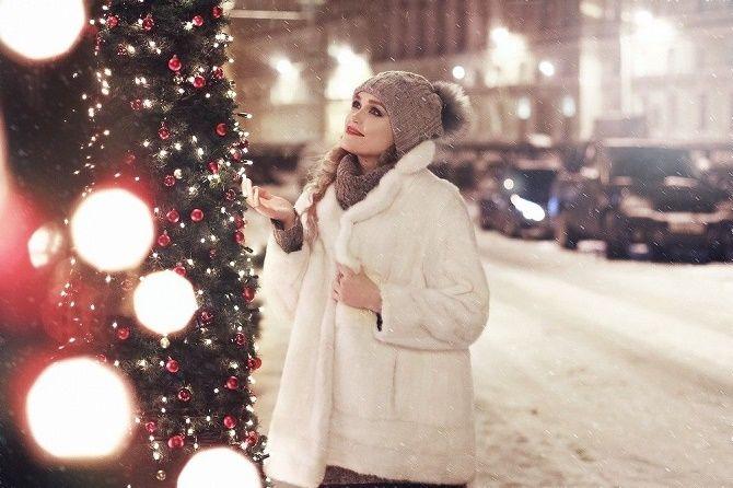 образи для новорічної фотосесії на вулиці