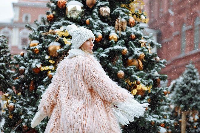 образы для новогодней фотосессии с елкой