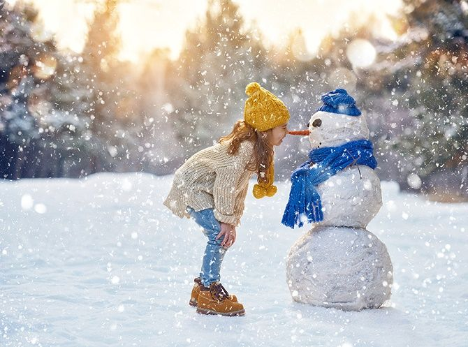 образи для новорічної фотосесії на вулиці діти