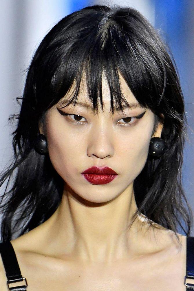 Roter matter Lippenstift