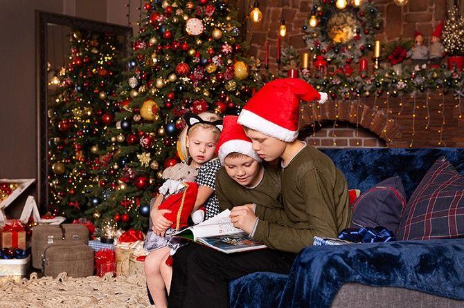 образы для новогодней фотосессии 2020 дети