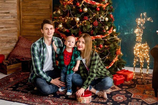 образы для новогодней фотосессии 2020 семья