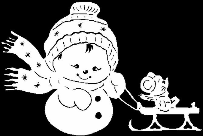 вытынанки мороз