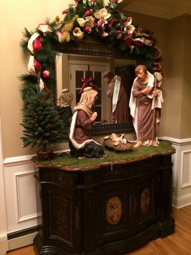 как сделать рождественский вертеп своими руками