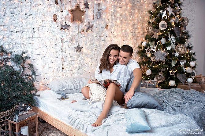 домашние образы для новогодней фотосессии