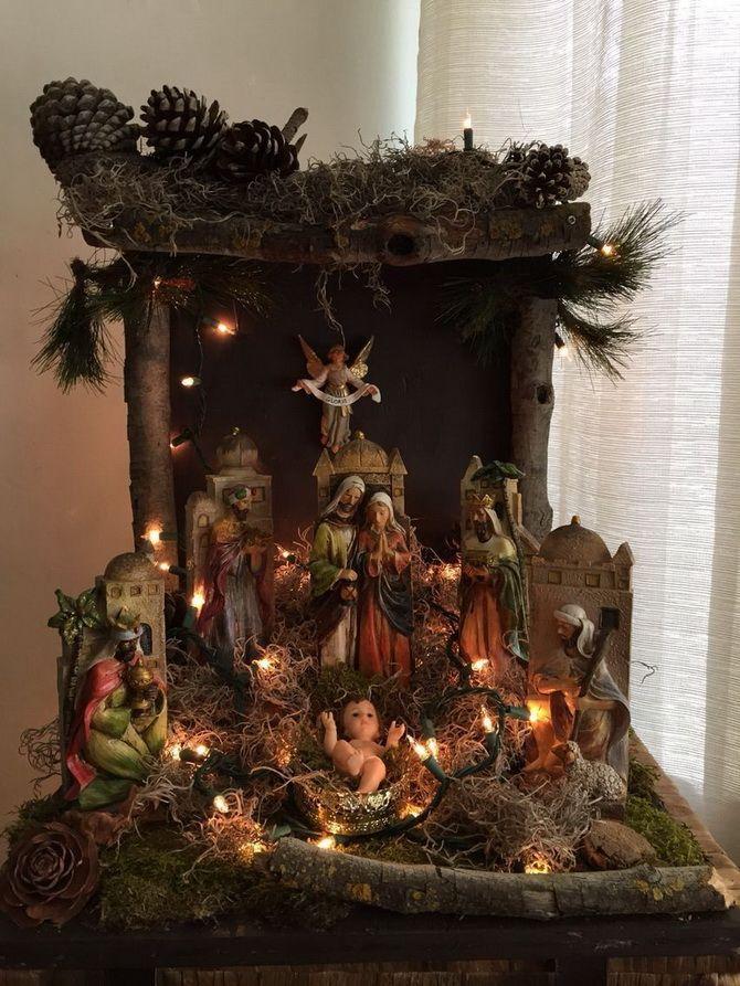 вертеп рождественский для детей