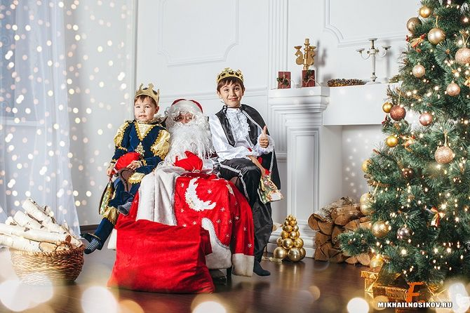 нестандартные образы для новогодней фотосессии