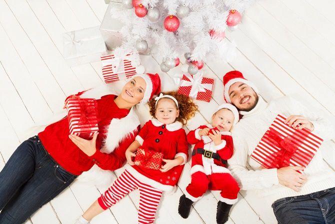 веселі образи для новорічної фотосесії
