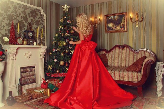 жіночі образи для новорічної фотосесії