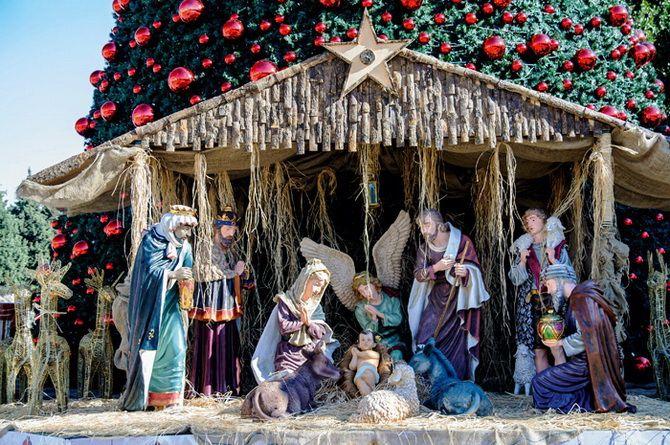 рождественский вертеп своими руками пошаговое