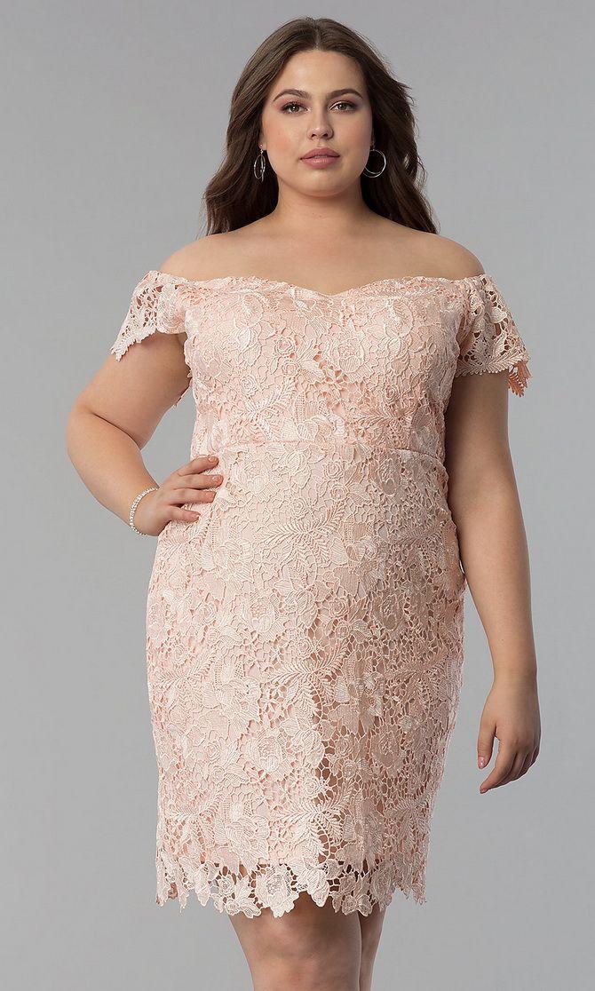 платье на новый год для полных