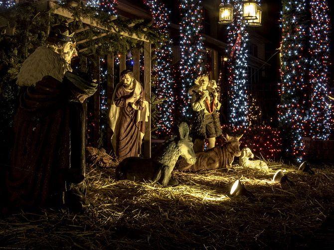 рождественский вертеп своими руками фото