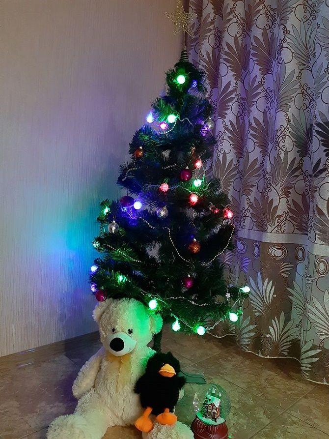 фото новогодней елки