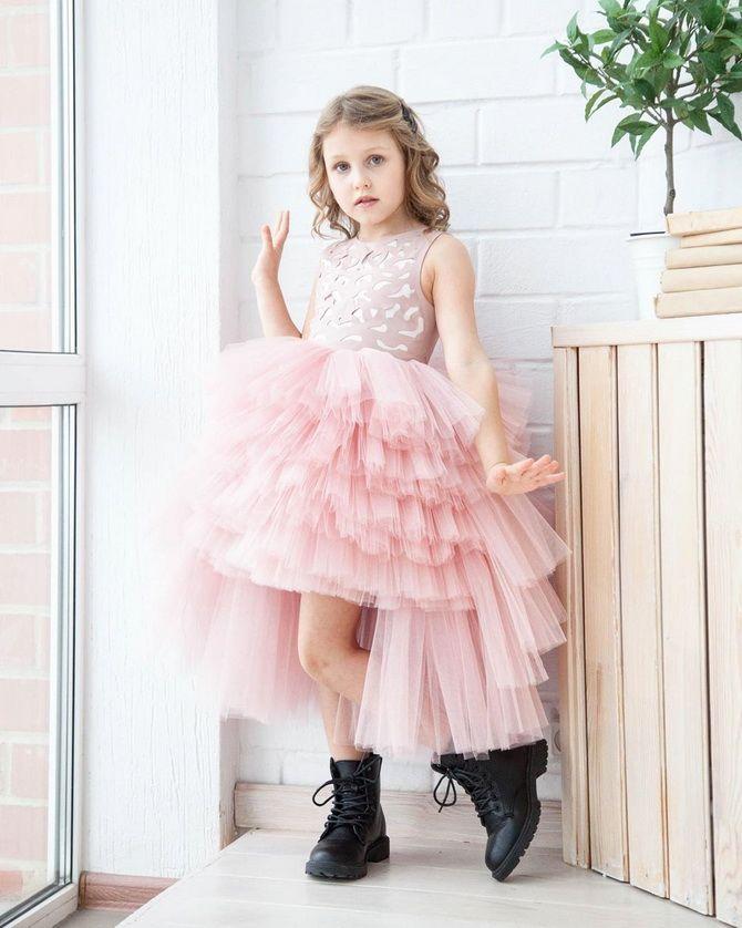 платье на новый год в детский сад