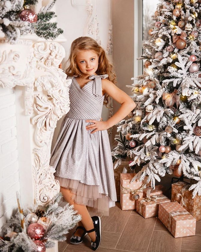 платья на новый год детские нова
