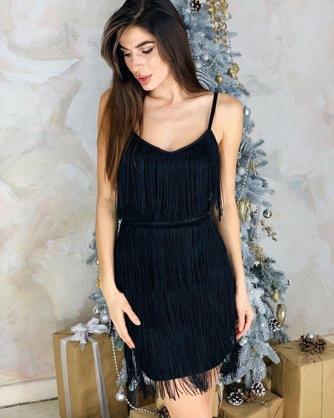 платье на новый год фото