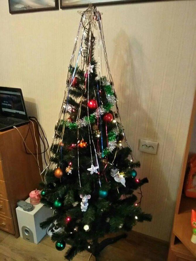 фото елки на новый год