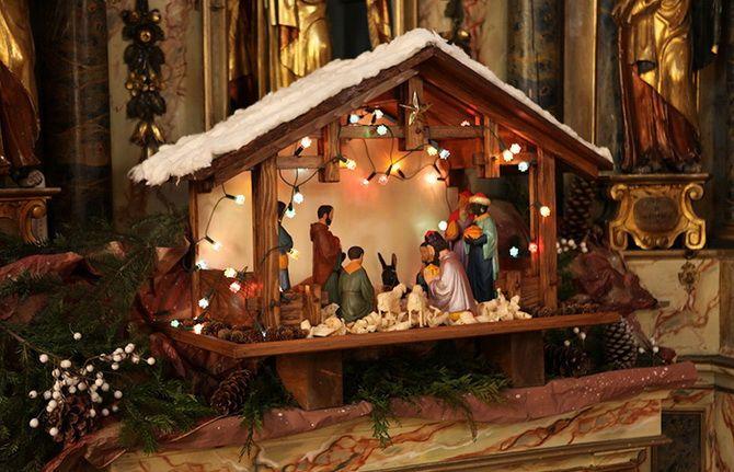 рождественский звезда