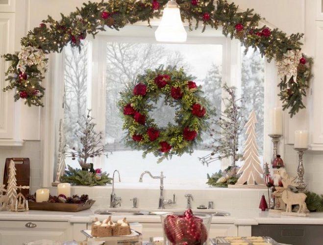Як прикрасити вікна до Нового року 2021: варіанти розкішного декору своїми руками 8