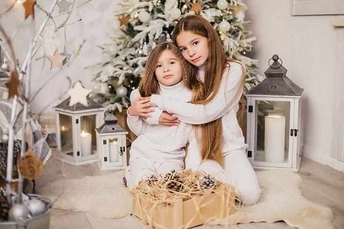 детские образы для новогодней фотосессии