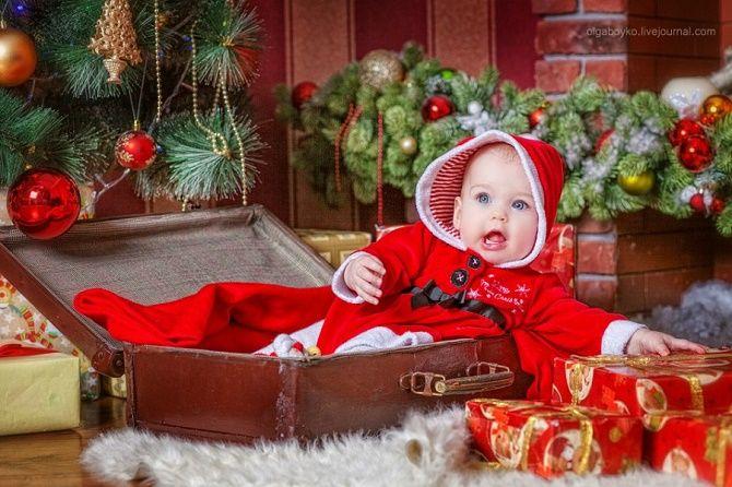 образи для новорічної фотосесії для дітей