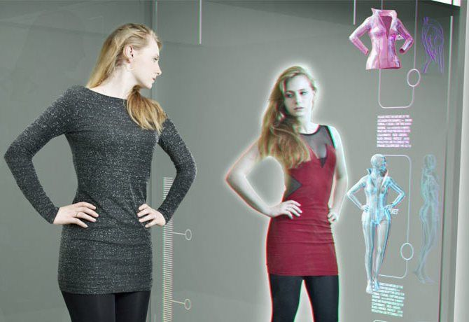 Примірочна-консультант і дзеркало-стиліст: що ще чекає нас в магазинах майбутнього? 2