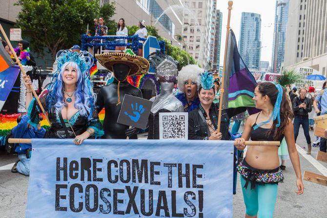 Экосексуалы перформансы