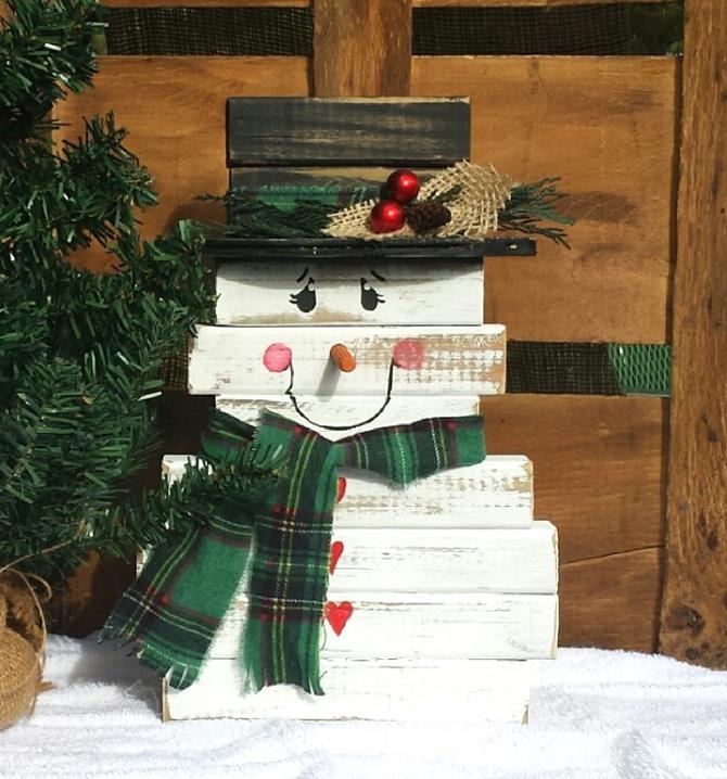 снеговик своими руками дома