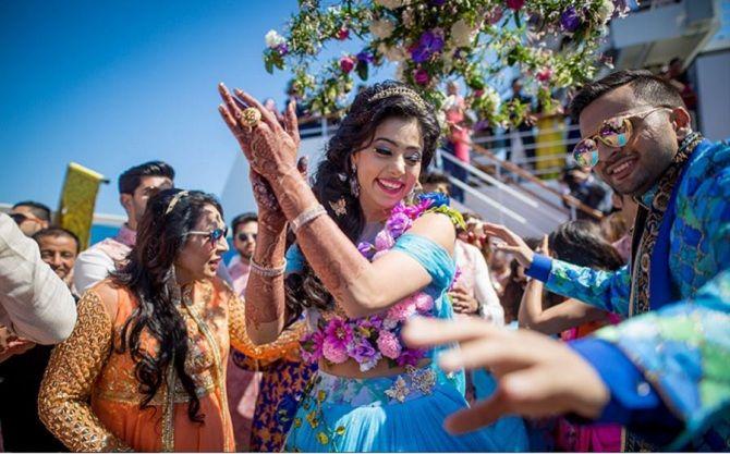 свадьба Адель Саджан и Сана Хан