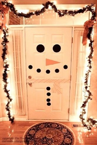 Сніговик своїми руками 2021 – прикрашаємо будинок улюбленим новорічним персонажем 21