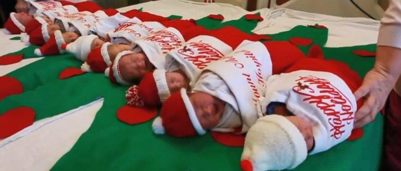 Щастя в Різдвяній шкарпетці: креатив від Техаського пологового будинку