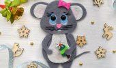 поделка крыса своими руками