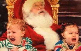 10 дітей, які дуже сильно злякалися Діда Мороза