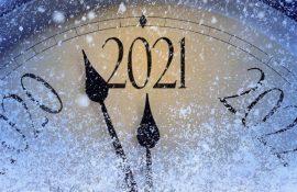 Найкращі  привітання та побажання на Новий рік 2021
